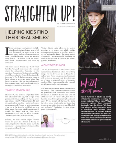 Article thumbnail - Straighten Up!