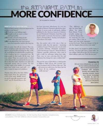 Article thumbnail - The straight path to more confidence