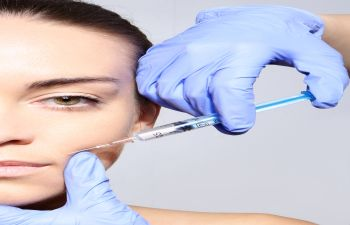 Woman Receiving Injection Fillers Marietta GA,