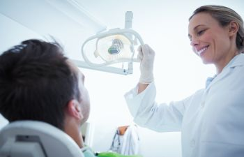Orthodontic Patient in Chair